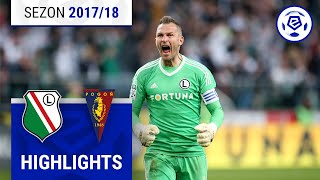 Legia Warszawa - Pogoń Szczecin 3:0 [skrót] sezon 2017/18 kolejka 30