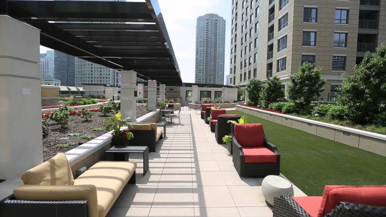 Impeccable Exterior Amenities - Chicago Apartments - AMLI ...