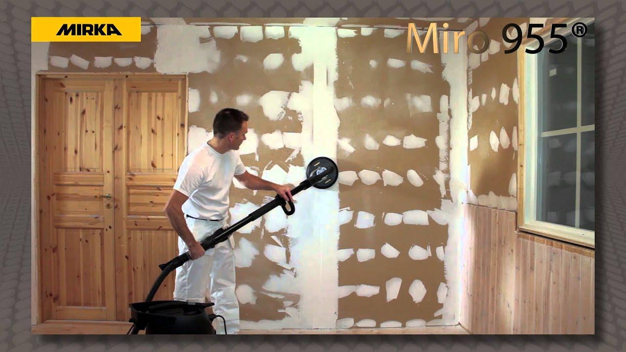 Miro 955 Oberflachenvorbereitung Von Wanden Und Decken Youtube