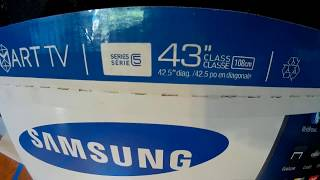 Non Paid Review of Samsung 43