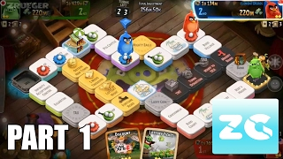 Angry Birds: Dice Android IOS Part 1 Tutorial And Play 1 Match Gameplay HD