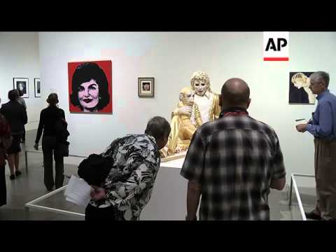 New museum exhibit examines influence of Andy Warhol 25 years after his death