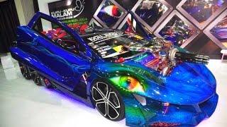 Keren Abis.. Mobil Modifikasi Ekstrem Karya Kupu kupu Malam