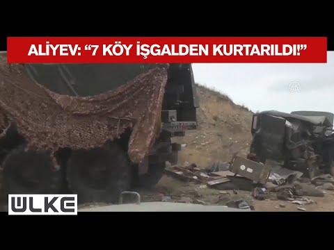 Azerbaycan Cumhurbaşkanı Aliyev, 7 Köyün Ermensitan İşgalinden Kurtulduğunu Duyurdu!
