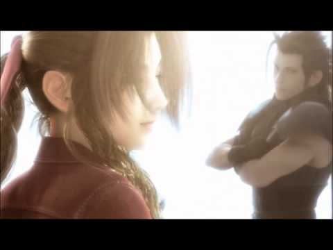 Final Fantasy 7 : Advent Children Cloud Sees Aerith And Zack