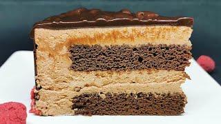 Como preparar una tarta deliciosa de chocolate, receta fácil y rechupete   @Cocinando con Jenny