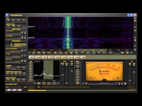 """1280 WCMN """"Noti Uno"""" Puerto Rico AM BCB DX Heard in Michigan on Perseus SDR"""