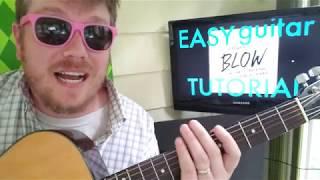 Ed Sheeran - BLOW, Chris Stapleton, Bruno Mars // easy guitar lesson tabs chords beginner tutorial