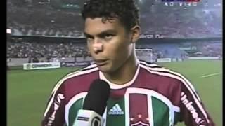 Thiago silva highlights (fluminense - copa libertadores da américa 2008)