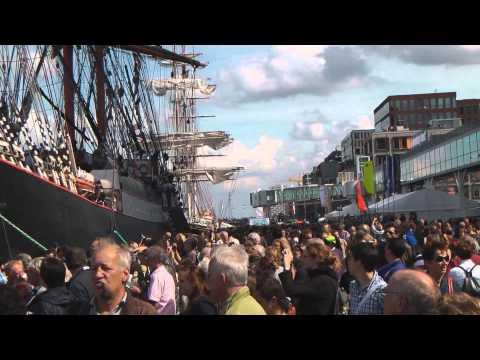 Sail Amsterdam - Invasion of Tall Ships Sailing into Amsterdam