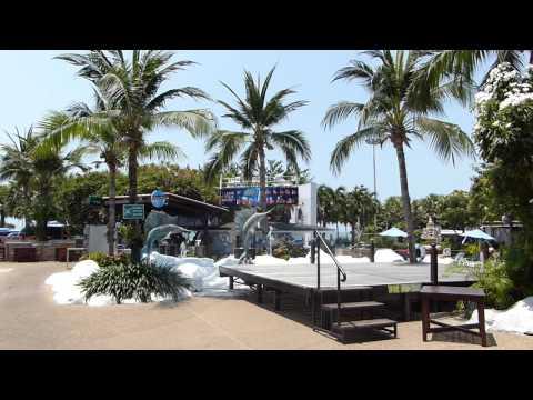 A-One The Royal Cruise Hotel bárpult, medence Pattayán