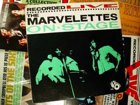 """Motown's Wide World Of Music- """"LIVE! The Marvelettes On Stage"""" album (side one)"""