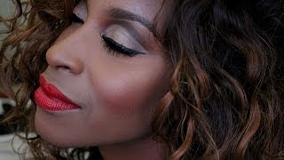 Cynthia Bailey RHOA reunion makeup Tutorial