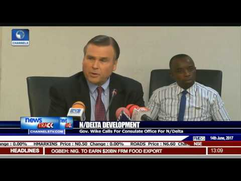 Wike Calls For US Consulate Office For Niger Delta