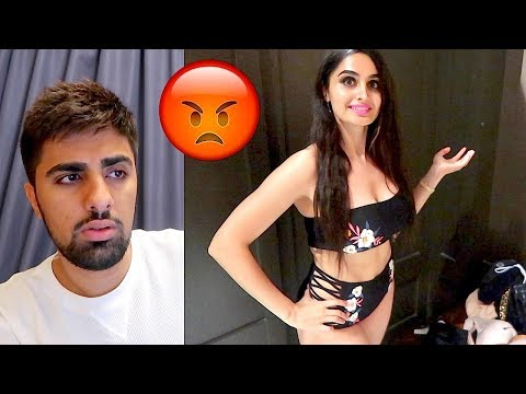REACTING TO MY SISTERS VIDEO ... *AWKWARD*