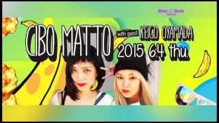 http://www.bluenote.co.jp/jp/artists/cibo-matto/ 昨年15年ぶりにアルバムをリリース&初登場で 話題を呼んだ2人がふたたびブルーノート東京へ CIBO MATTO...