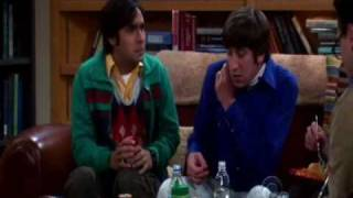 The Big Bang Theory Season 3 Funny Moments Part 2