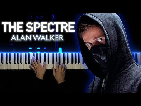 Alan Walker - The Spectre | Piano Cover