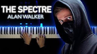 Alan Walker - The Spectre | Piano cover видео