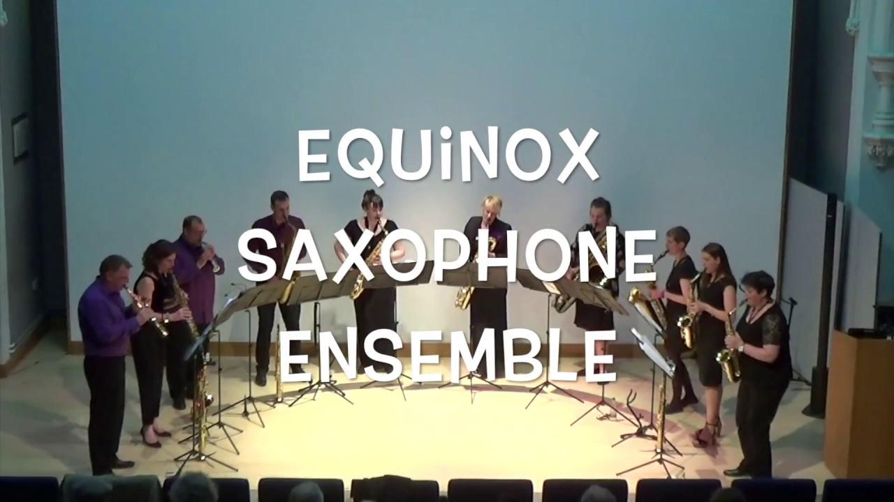 A La Parisienne - Equinox Saxophone Ensemble