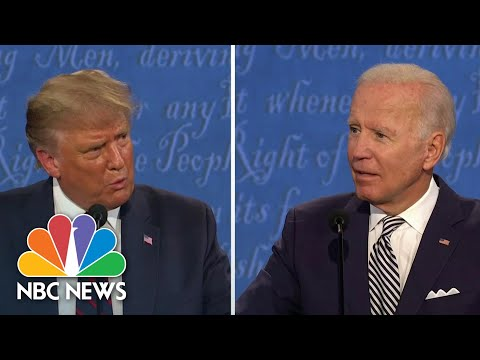 Trump Sidesteps Condemning White Supremacy At Debate | NBC News