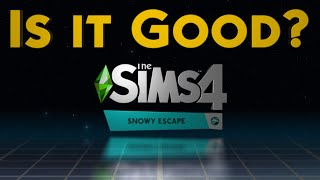 Thin Ice or Thick Gameplay? The Sims 4 Snowy Escape Expansion Review