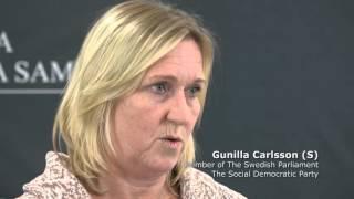 Interview - Gunilla Carlsson (S) - Member of The Swedish Parliament