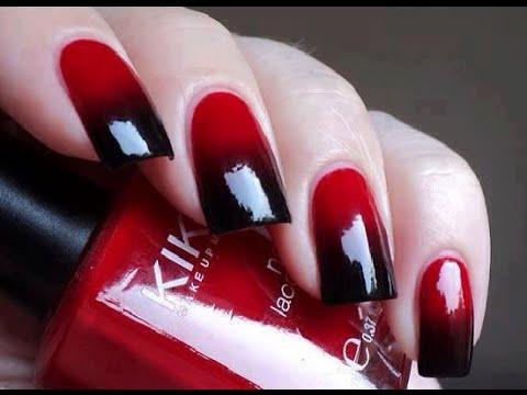 decoracion de uñas con esmalte sencillas y bonita,/nails ...