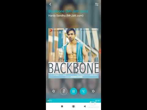 Backbone Song Karoke With Lyrics