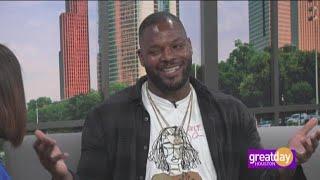 "Martellus Bennett talks about his book, ""Dear Black Boy"""