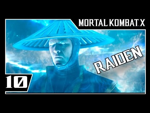 MORTAL KOMBAT X - Modo História Parte #10 - RAIDEN  - Dublado [1080p 60fps]