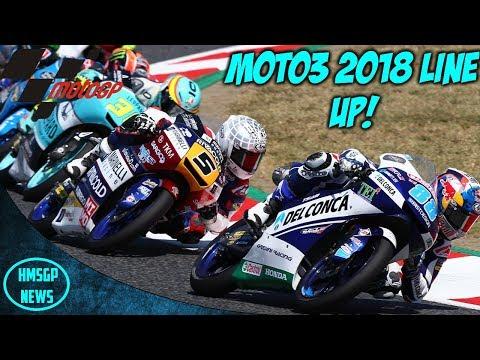 MotoGP News: Moto3 2018 Rider Line Up! letöltés