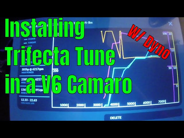 Installing a Trifecta Tune In a v6 Camaro with Dyno Testing