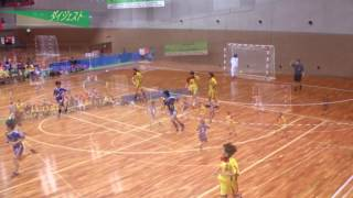 H26年 第23回JOCハンドボール大会沖縄VS山梨(ダイジェスト)(女子予選リーグ)