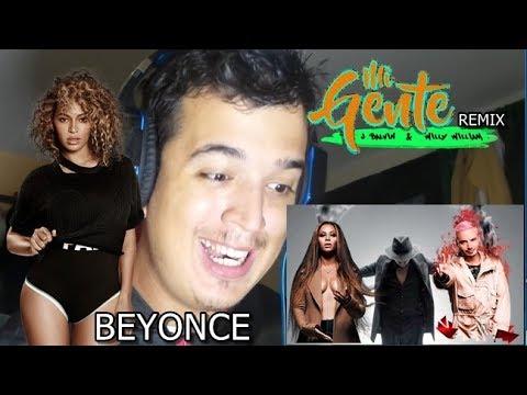 J Balvin, Willy William - Mi Gente featuring Beyoncé - REMIX (REACTION)