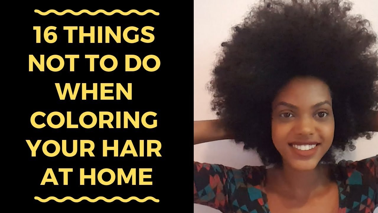 Hair HORROR Stories: 16 Things NOT To Do When Coloring Your Hair at Home