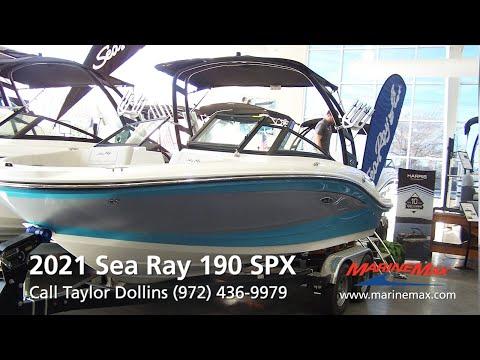 Sea Ray SPX 190 For Sale at MarineMax Dallas