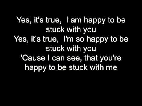 Huey Lewis Stuck With You Lyrics Bb Karaoke