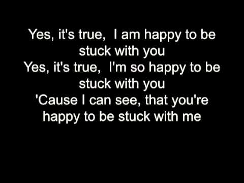 Huey Lewis Stuck With You Lyrics Bb Karaoke