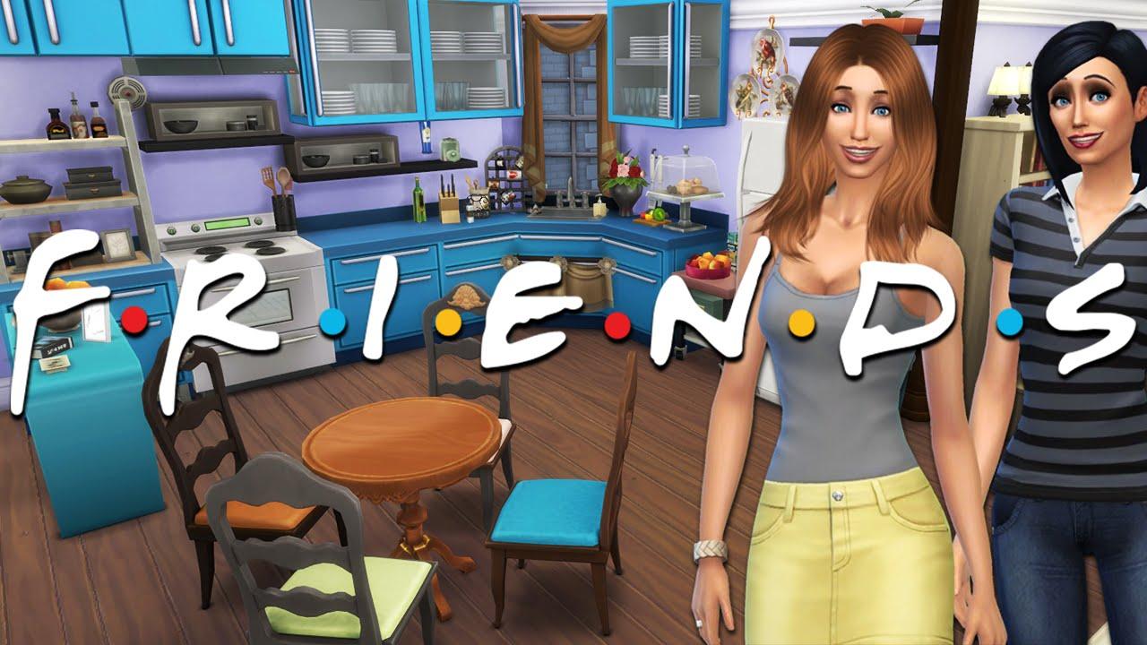 Friends Tv Show Monica Rachel 39 S Apartment Sims 4