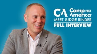 Camp America meet Judge Rinder | Full Interview