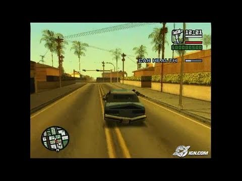 Grand Theft Auto: San Andreas PlayStation 2 Gameplay - thumbnail