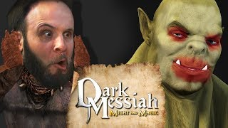 DORKS AND ORCS - Dark Messiah of Might and Magic Gameplay Part 4
