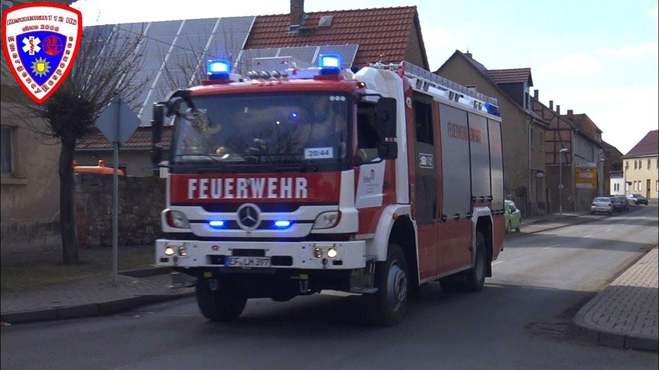 HLF 20 Feuerwehr Erfurt-Vieselbach + HLF 20/24