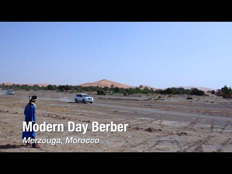 Modern Day Berber in Merzouga, Morocco