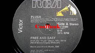 """Plush - Free And Easy (12"""" Funk 1982)"""