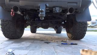 DIY FJ Cruiser Dual Exhaust 2.5