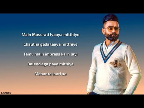 Collar bone (Lyrics) - Amrit Maan | Desi Crew | New Song 2018