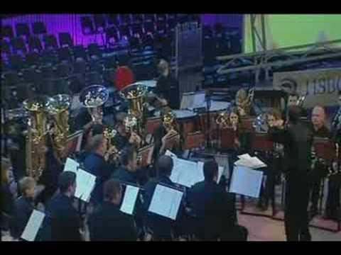 """Beaumaris Band play """"Amazonia"""" 2007"""