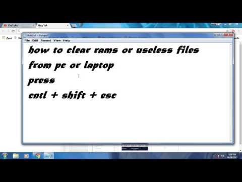 How to Clean Ram on Windows 7 pc